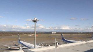 新千歳空港 ライブカメラ(ターミナル・滑走路)(STV)と雨雲レーダー/北海道千歳市