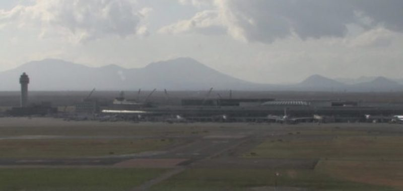 新千歳空港 ライブカメラ(HBC)と雨雲レーダー/北海道千歳市