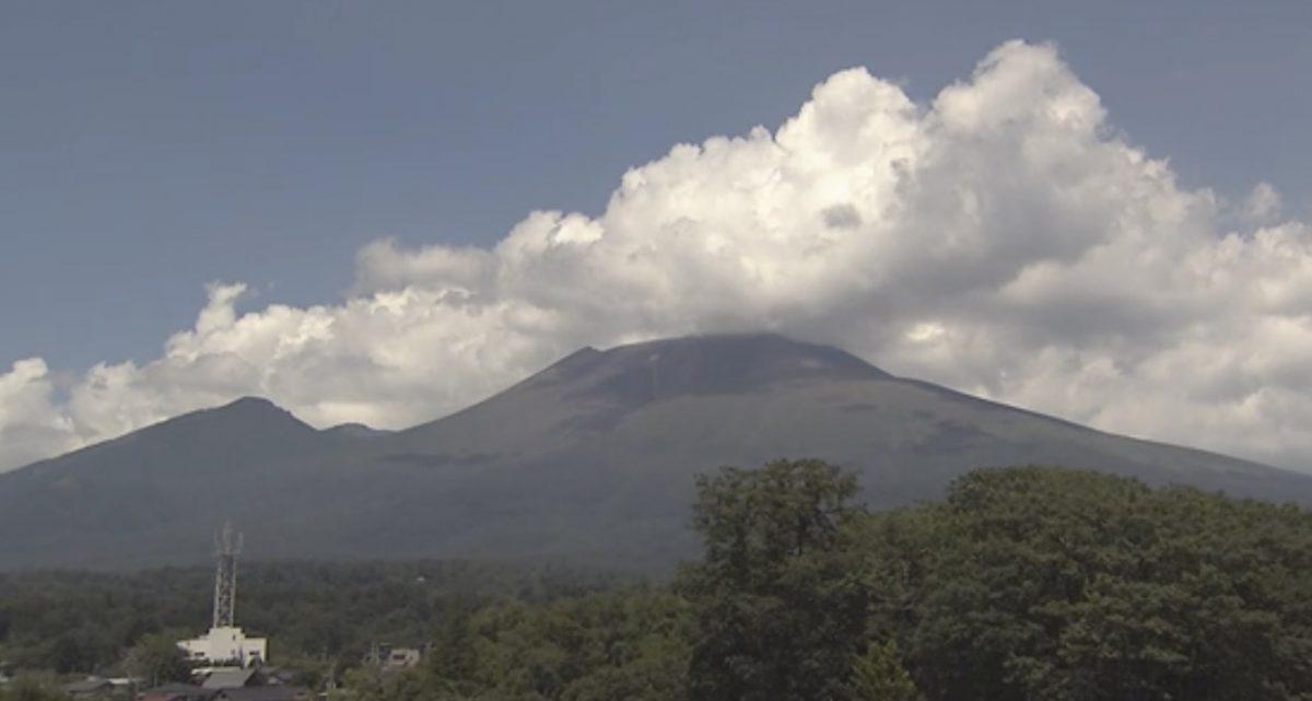 停止中:浅間山に噴火速報 ライブカメラ(NHK)と雨雲レーダー/静岡県・長野県