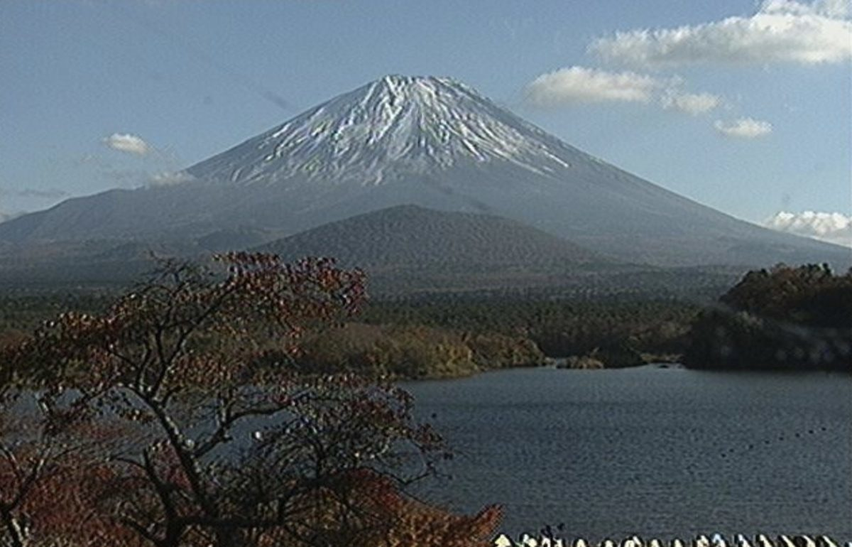 山田屋ホテル 精進湖と富士山ライブカメラと雨雲レーダー/山梨県富士河口湖町