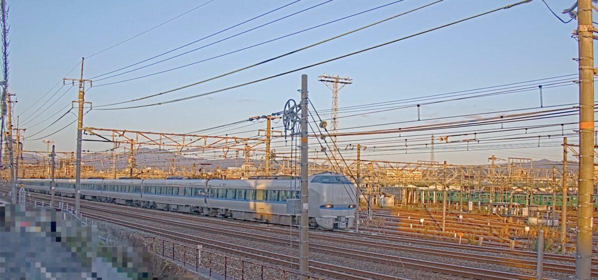 JR京都線 向日町操車場 ライブカメラと雨雲レーダー/京都府向日市