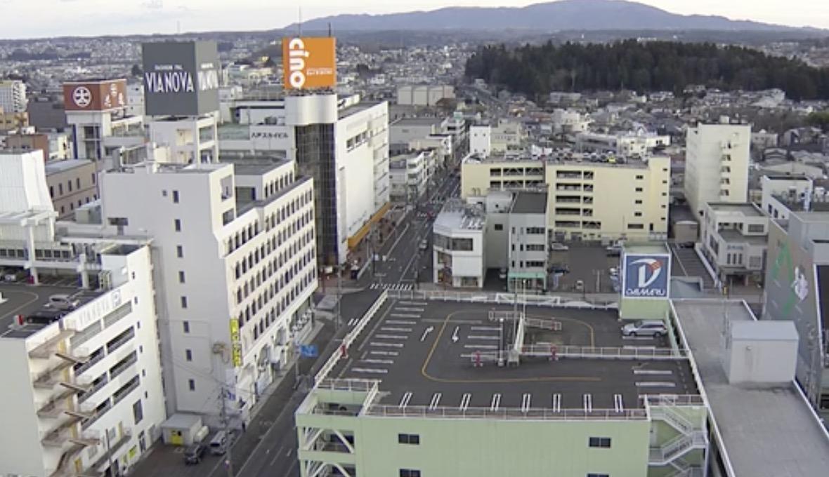 停止中:青森県で震度5弱 現在の様子 ライブカメラ(NHK)と雨雲レーダー