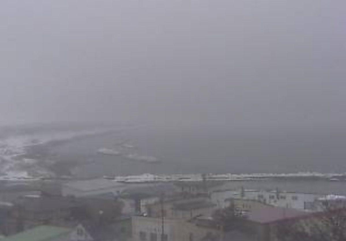 オホーツク海ライブカメラと雨雲レーダー/北海道北見市