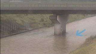 敷地川・笠梅橋 ライブカメラと雨雲レーダー/静岡県磐田市