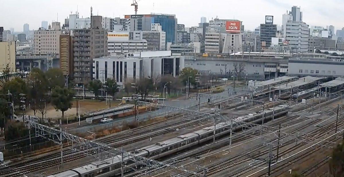 新大阪駅 ライブカメラと雨雲レーダー/大阪府大阪市