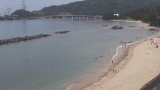 水晶浜 ライブカメラと雨雲レーダー/福井県若狭美浜町