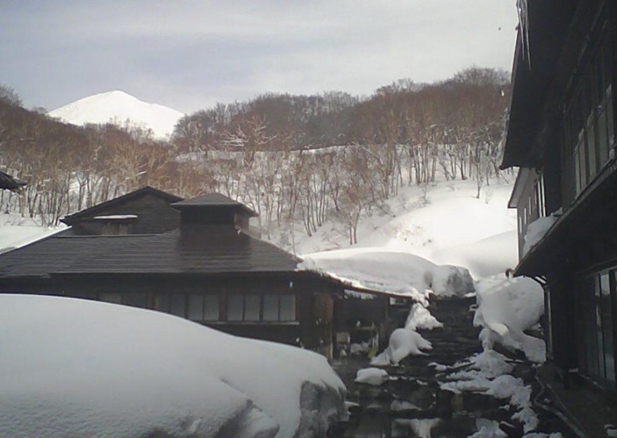 酸ヶ湯 ライブカメラ(温泉)と雨雲レーダー/青森県青森市