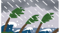 台風情報まとめ:台風25号 北日本で非常に強い風 北海道で強い雨 暴風や高波に警戒