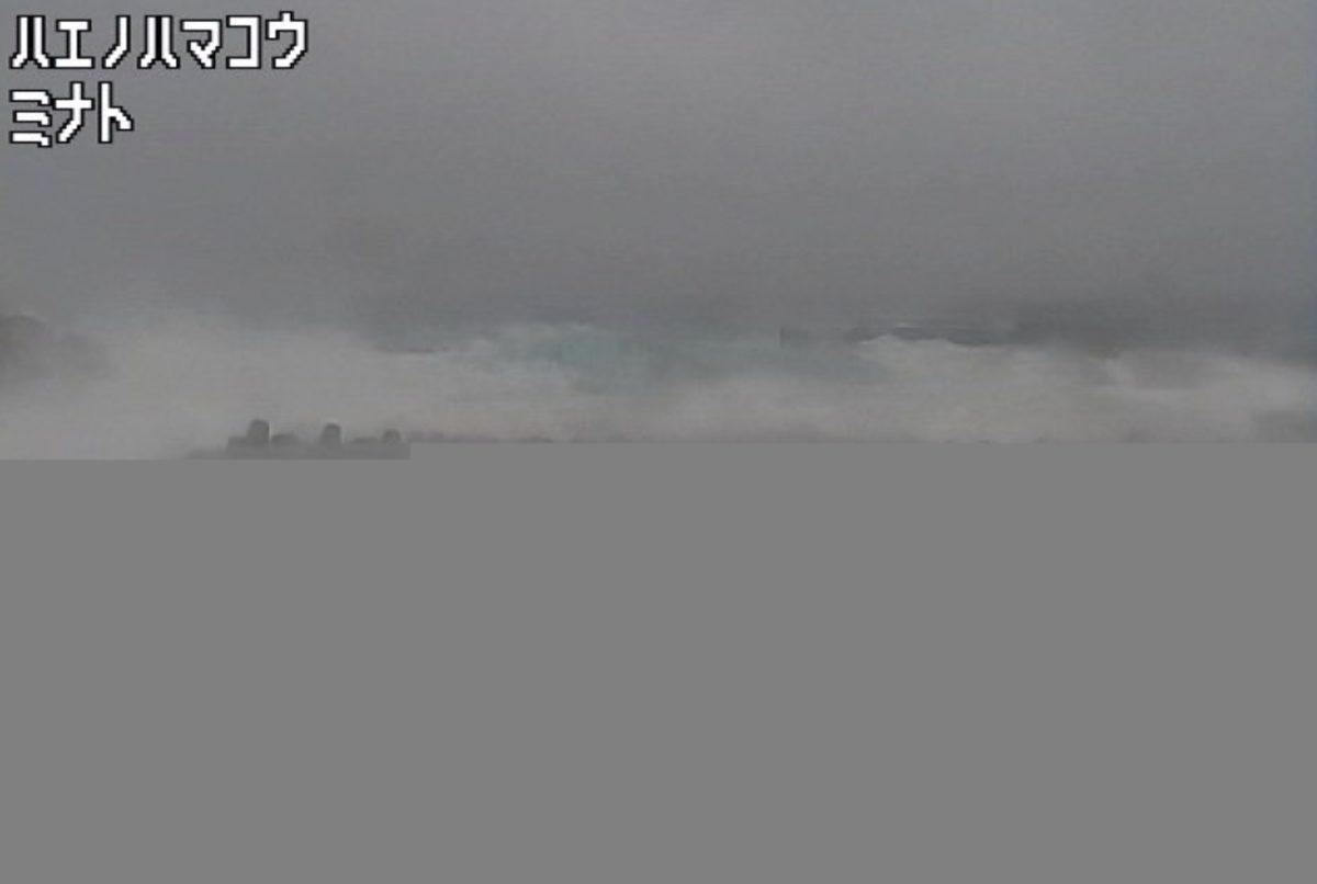 平島(南之浜港) ライブカメラと雨雲レーダー/鹿児島県十島村