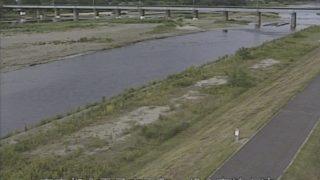 多摩川 ライブカメラ(JR八高線上流)と気象レーダー/東京都八王子市