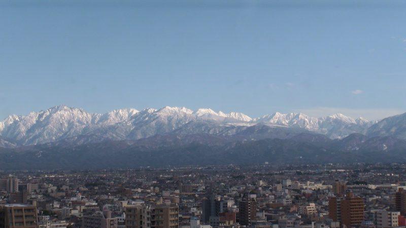 立山連峰ライブカメラと雨雲レーダー/富山県富山市