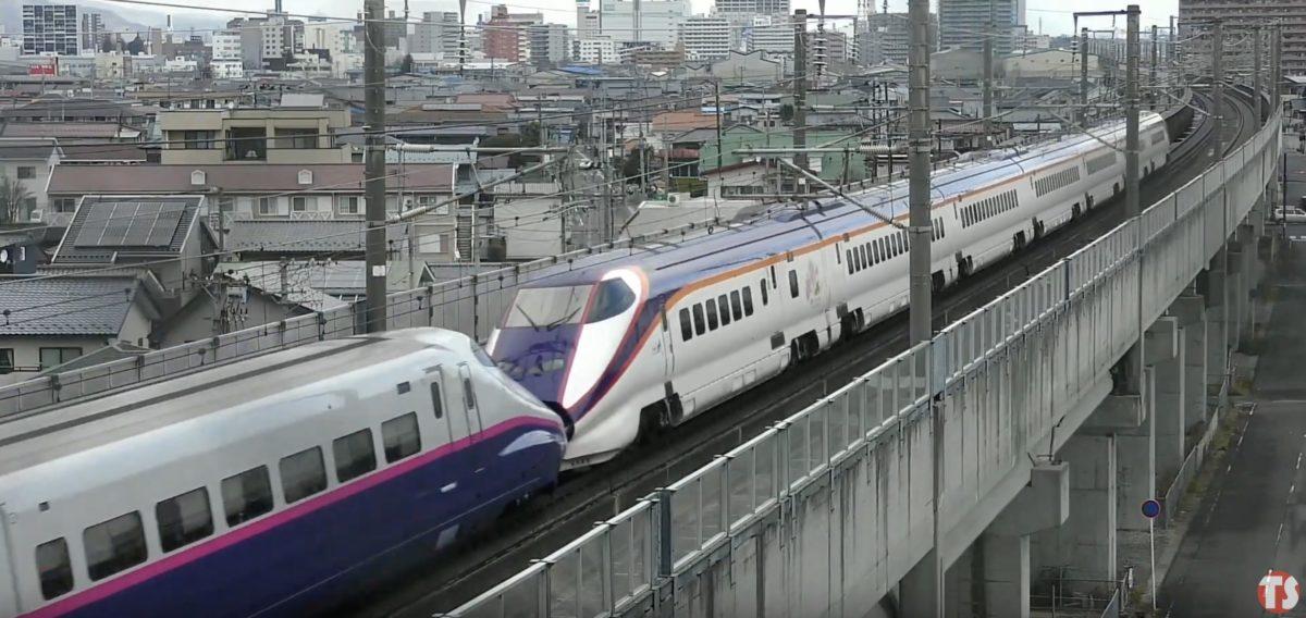 東北新幹線 ライブカメラと雨雲レーダー/福島県郡山市