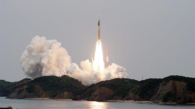 「みちびき3号機」打ち上げライブカメラ中継(種子島宇宙センター)
