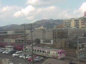 豊岡駅、豊岡市街ライブカメラと雨雲レーダー/兵庫県豊岡市