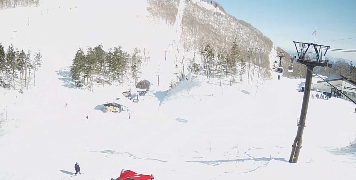 栂池高原スキー場 ライブカメラと雨雲レーダー/長野県小谷村