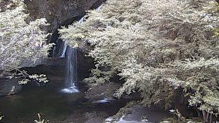 月待の滝 ライブカメラと雨雲レーダー/茨城県大子町