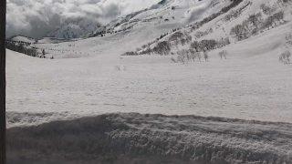 栂池自然園ライブカメラと雨雲レーダー/長野県小谷村