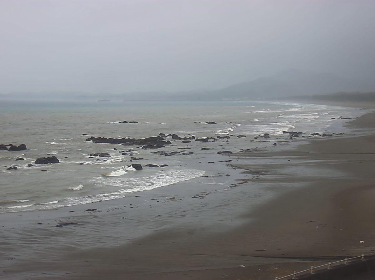 浮鞭ビーチライブカメラと雨雲レーダー/高知県黒潮町