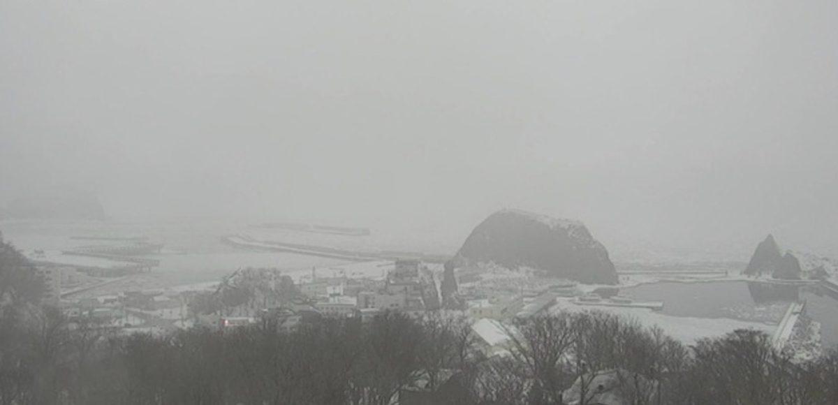 ウトロ港 ライブカメラ(HBC)と雨雲レーダー/北海道斜里町ウトロ