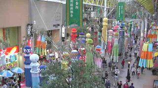 仙台七夕祭り・一番街商店街ぶらんどーむライブカメラと雨雲レーダー/宮城県仙台市
