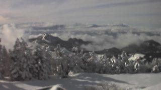 横手山頂ヒュッテ・横手山スキー場 ライブカメラと雨雲レーダー/長野県山ノ内町