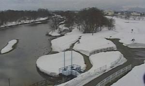 最上川上流が見れるライブカメラ